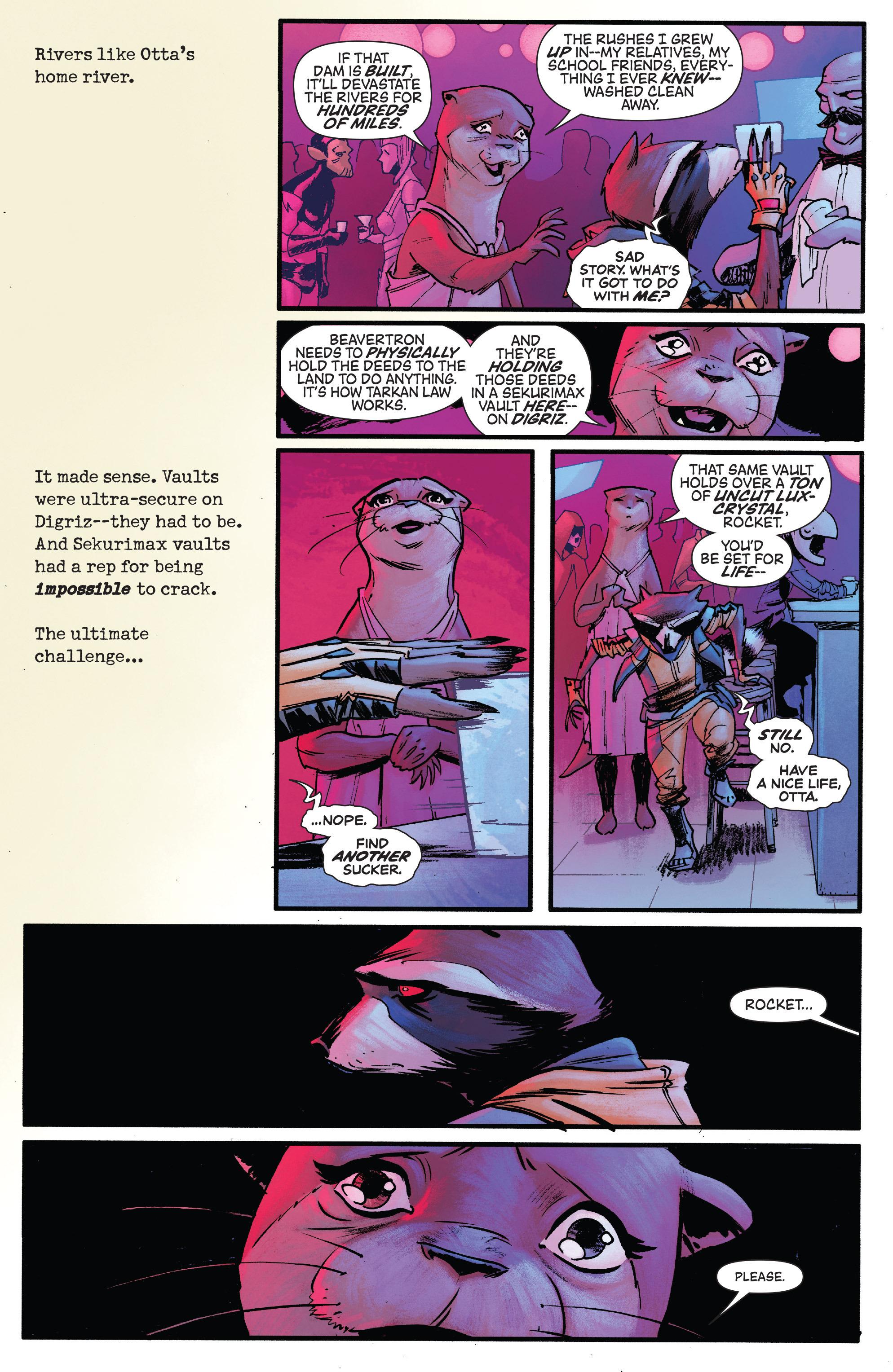 Read online Rocket comic -  Issue #1 - 11