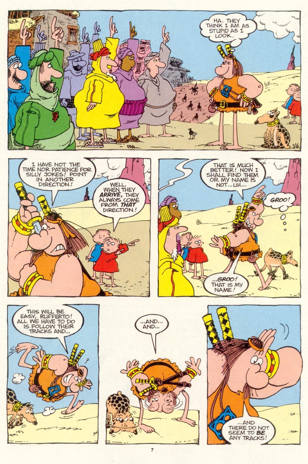 Read online Sergio Aragonés Groo the Wanderer comic -  Issue #114 - 9