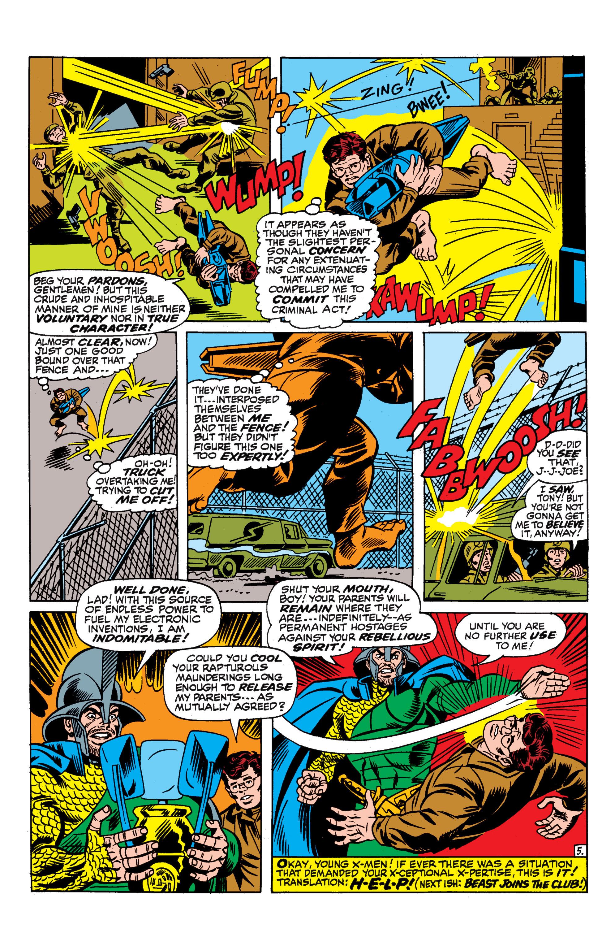 Uncanny X-Men (1963) 52 Page 20
