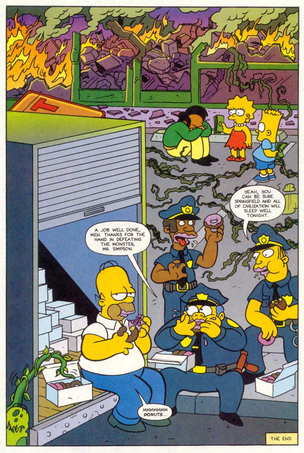 Read online Treehouse of Horror comic -  Issue #1 - 17