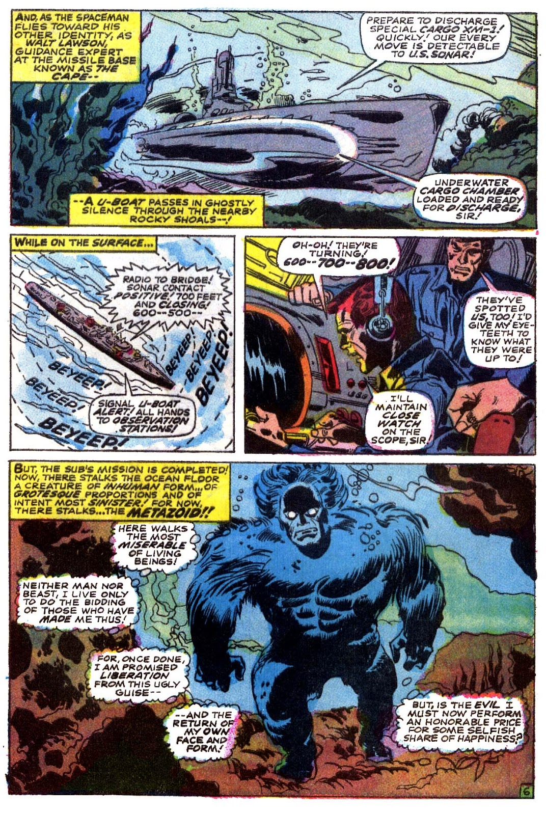 Captain Marvel (1968) issue 5 - Page 7