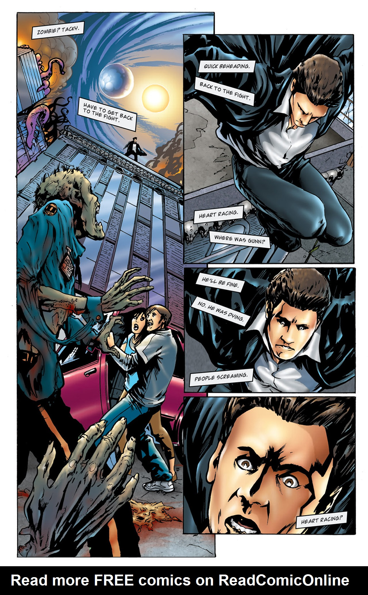 Read online Angel: After The Fall comic -  Issue #4 - 6