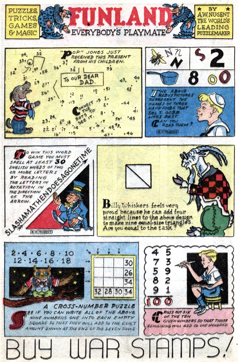 Read online Famous Funnies comic -  Issue #121 - 18
