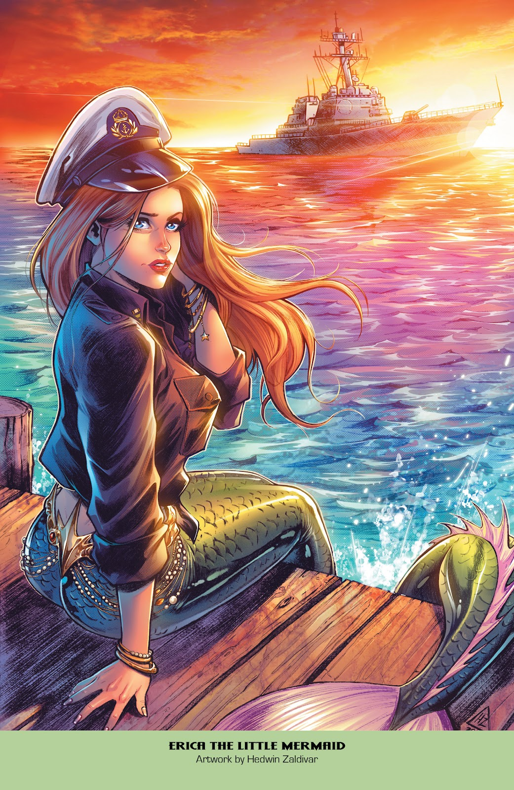 Read online Grimm Fairy Tales: 2019 Armed Forces Edition comic -  Issue # Full - 31
