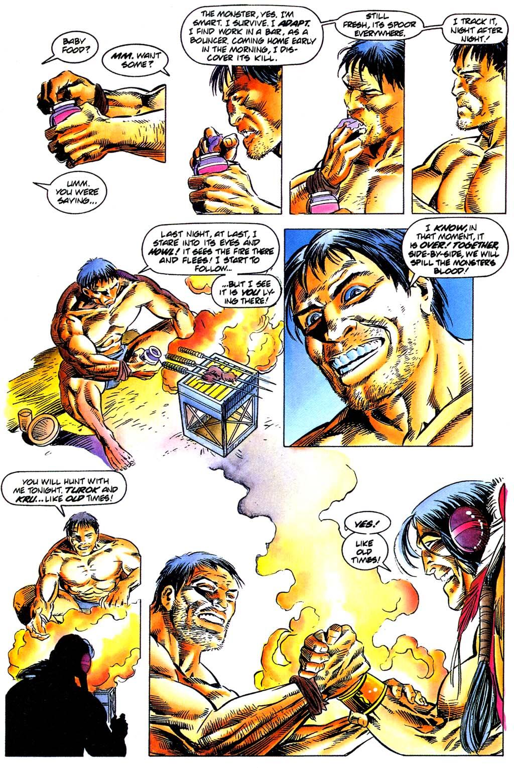 Read online Turok, Dinosaur Hunter (1993) comic -  Issue #29 - 16