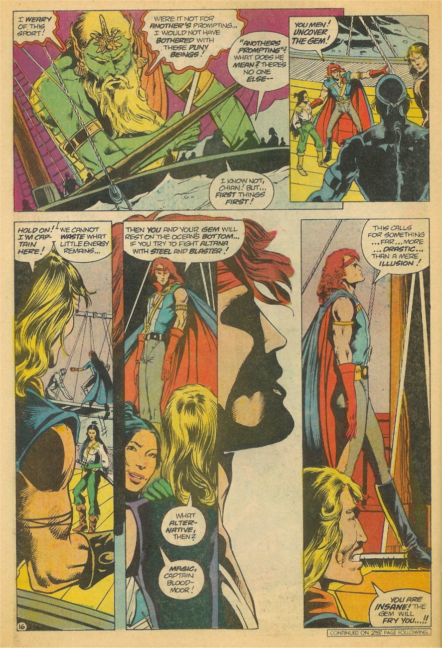 Read online Arion, Lord of Atlantis comic -  Issue #21 - 17