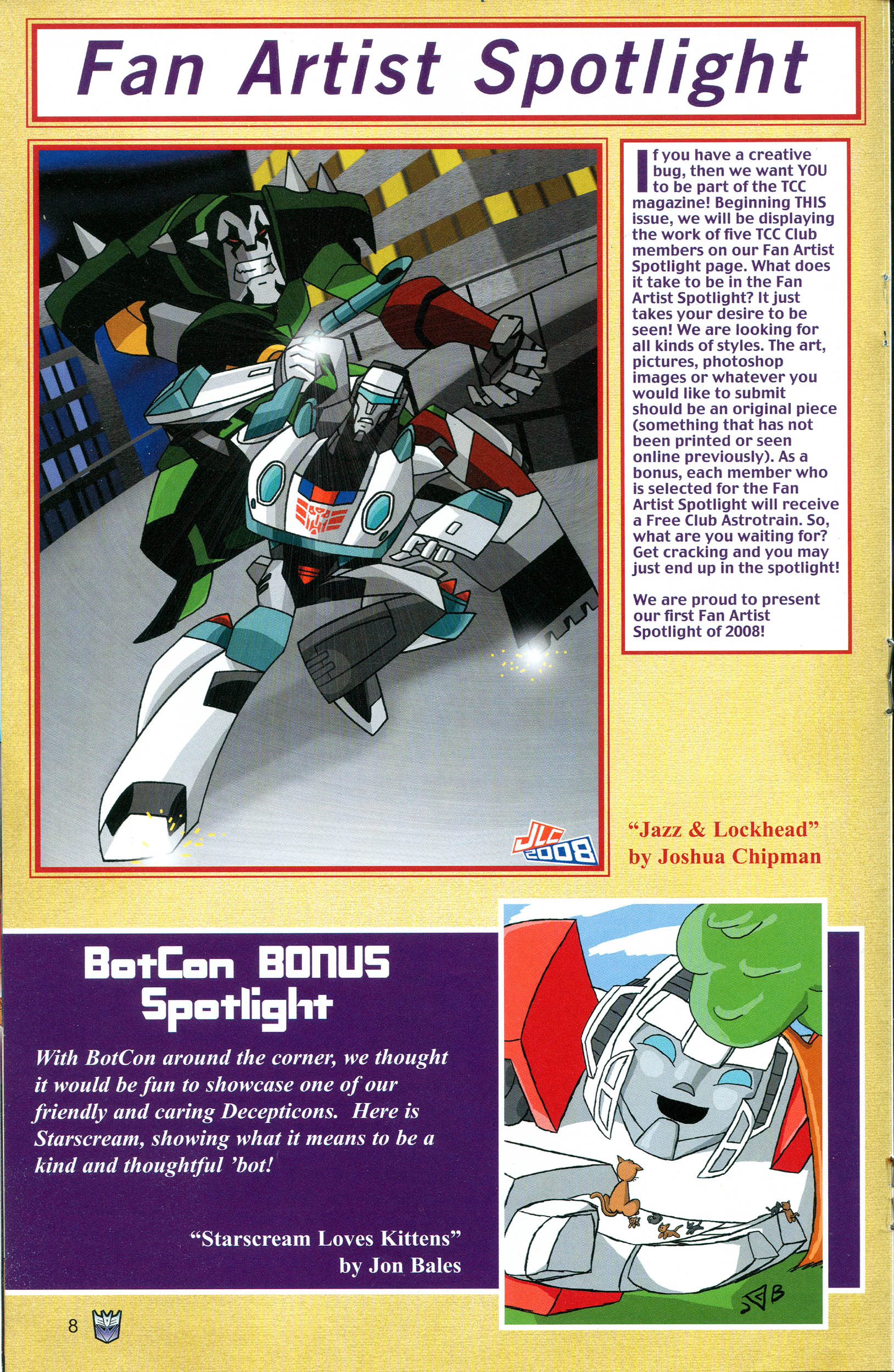 Read online Transformers: Collectors' Club comic -  Issue #20 - 8