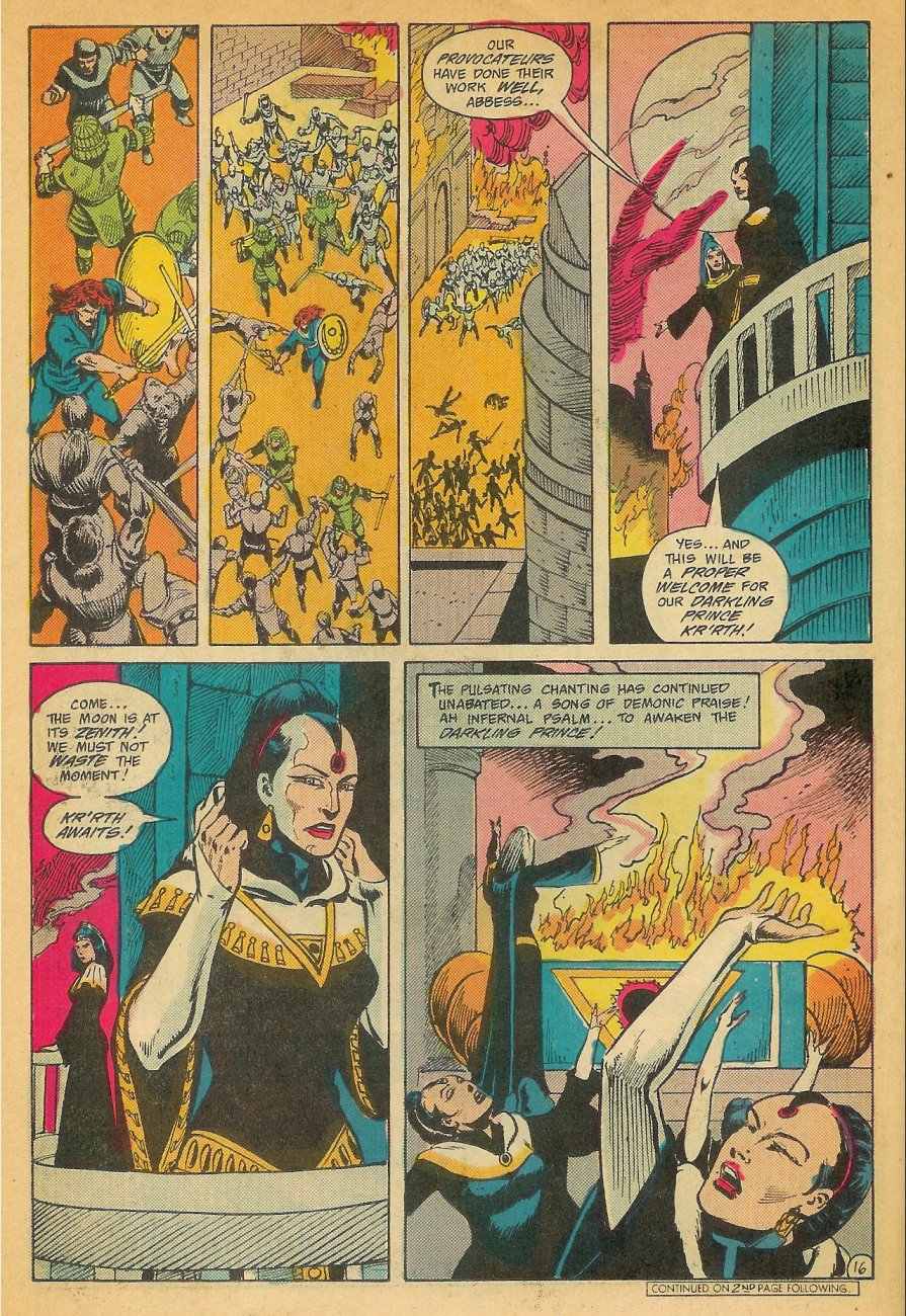 Read online Arion, Lord of Atlantis comic -  Issue #26 - 17