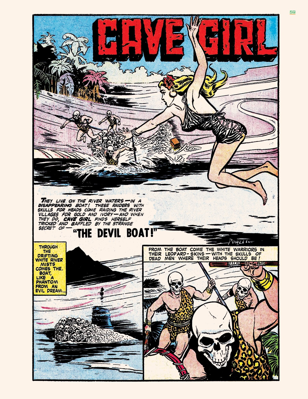 Read online Jungle Girls comic -  Issue # TPB (Part 1) - 59