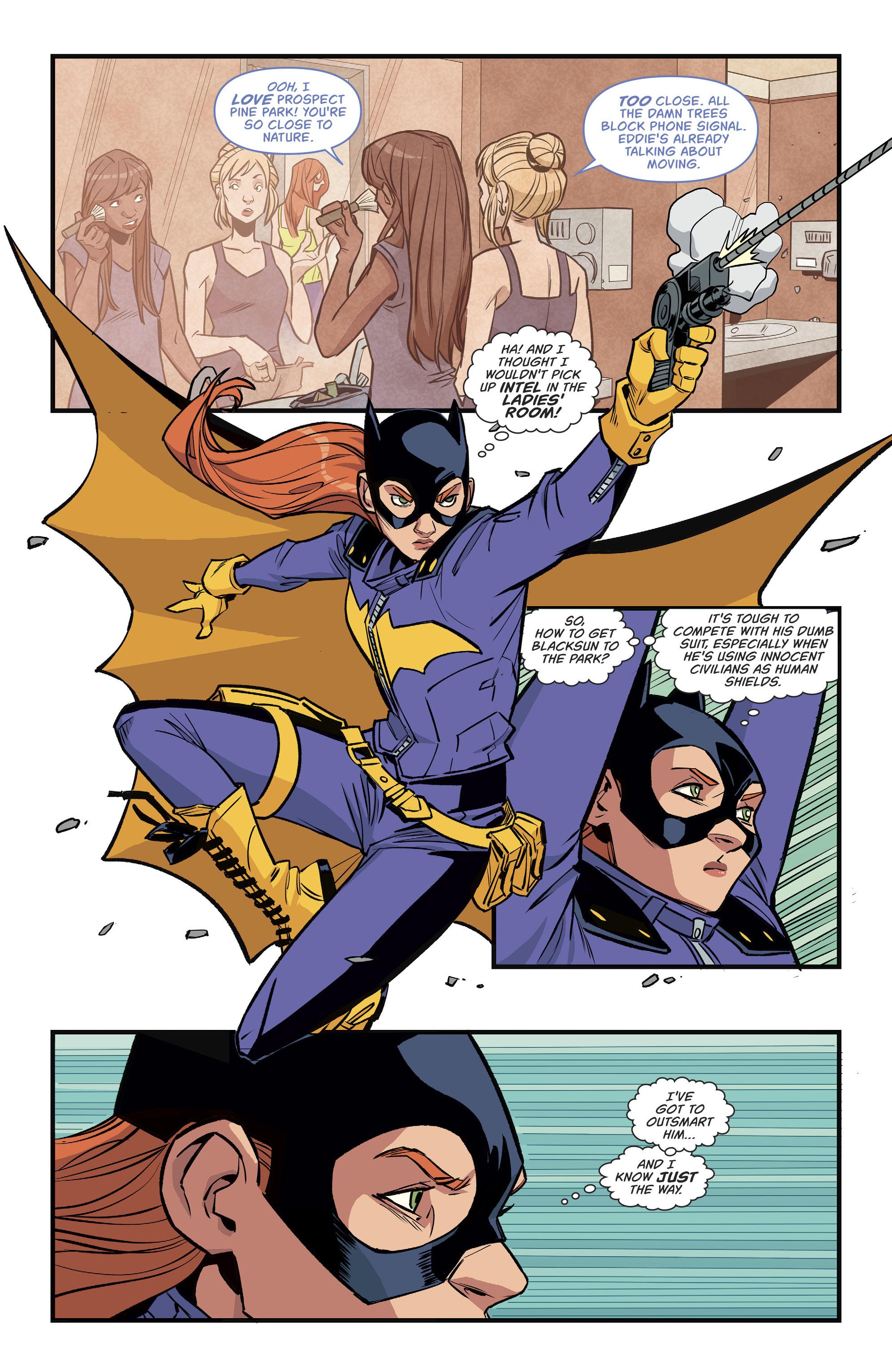 Read online Batgirl (2016) comic -  Issue #11 - 13