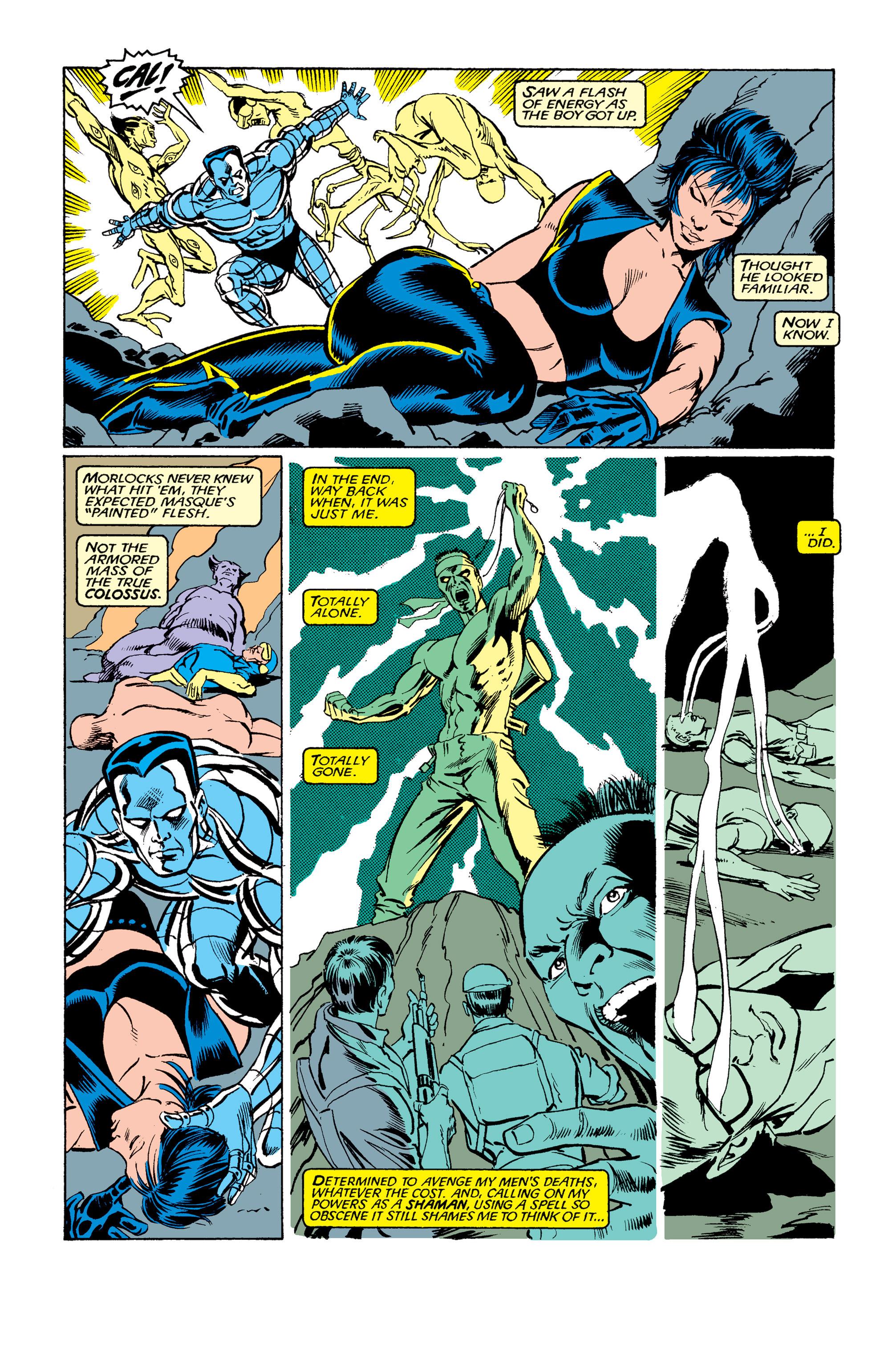 Read online Uncanny X-Men (1963) comic -  Issue #263 - 19
