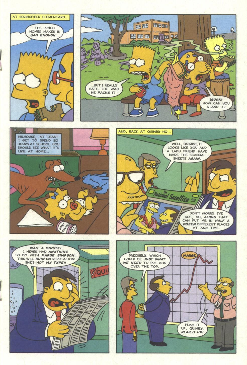 Read online Simpsons Comics comic -  Issue #25 - 18