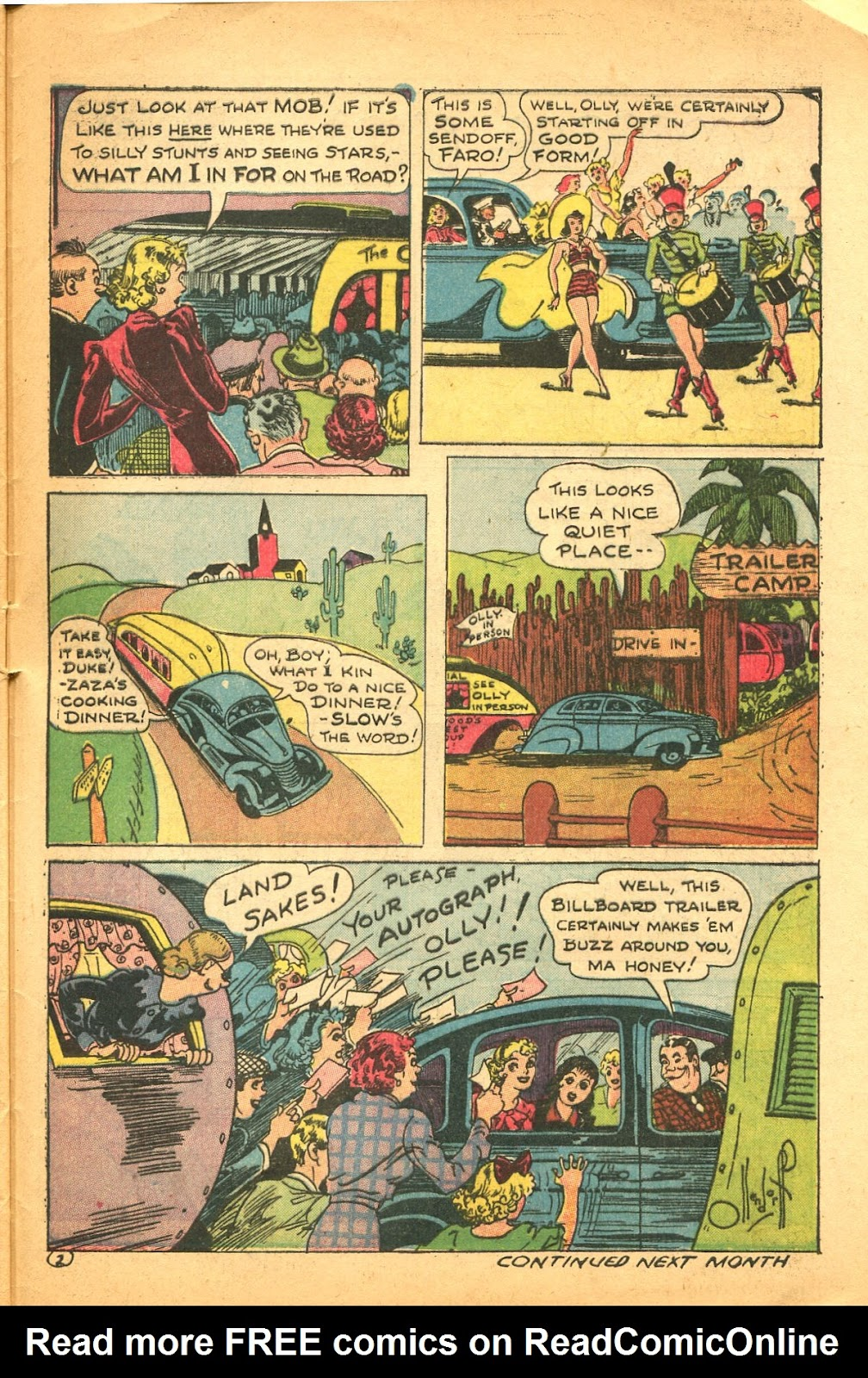 Read online Famous Funnies comic -  Issue #119 - 47