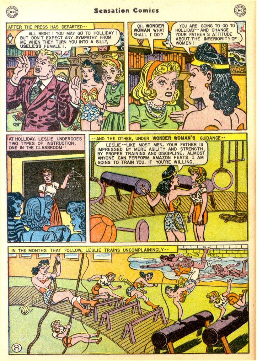 Read online Sensation (Mystery) Comics comic -  Issue #85 - 9
