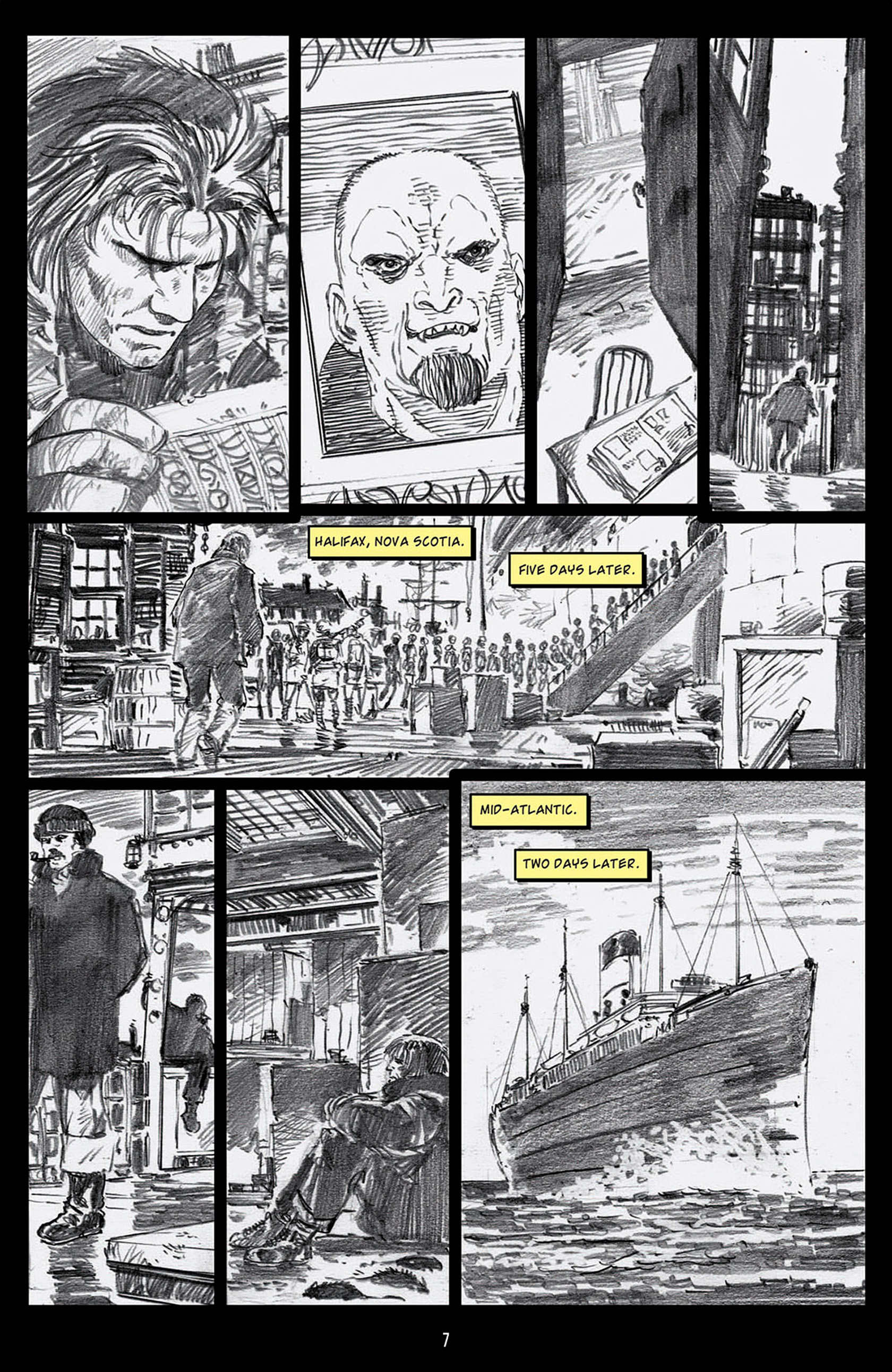 Read online Angel: Blood & Trenches comic -  Issue #1 - 10