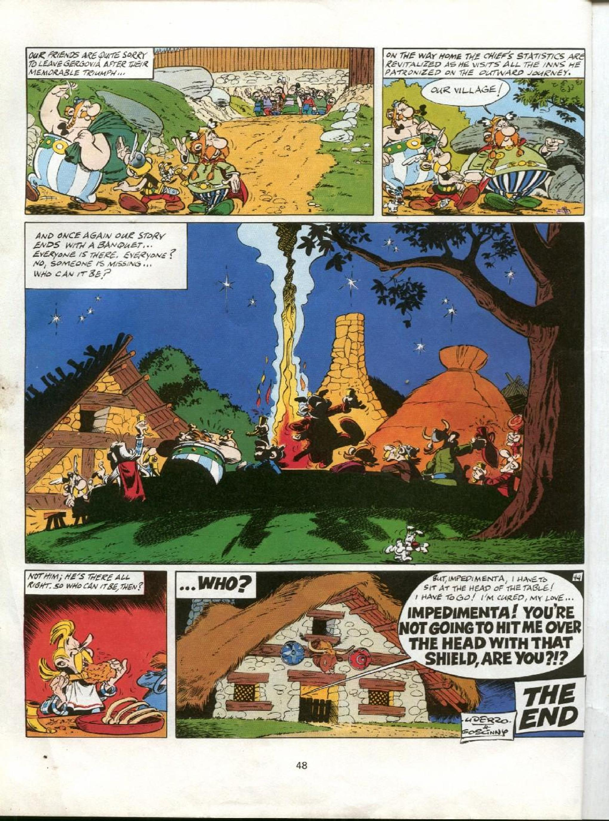Read online Asterix comic -  Issue #11 - 45