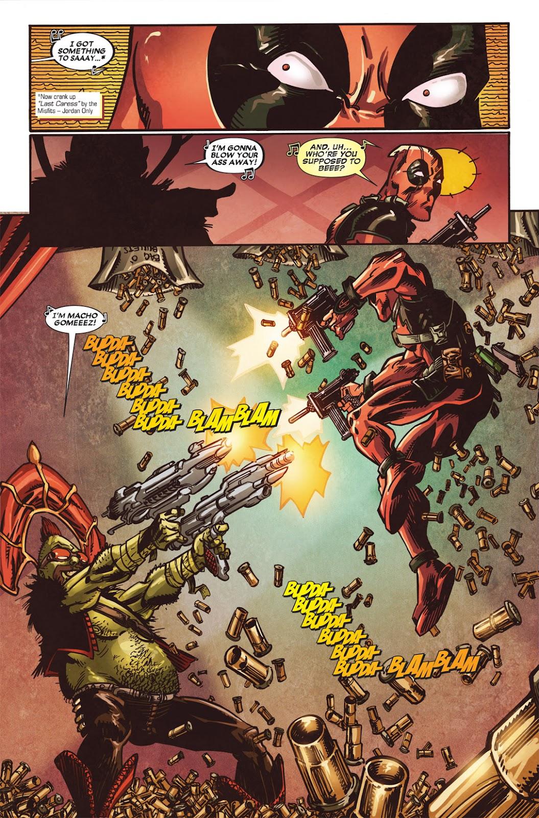 Read online Deadpool (2008) comic -  Issue #49.1 - 19