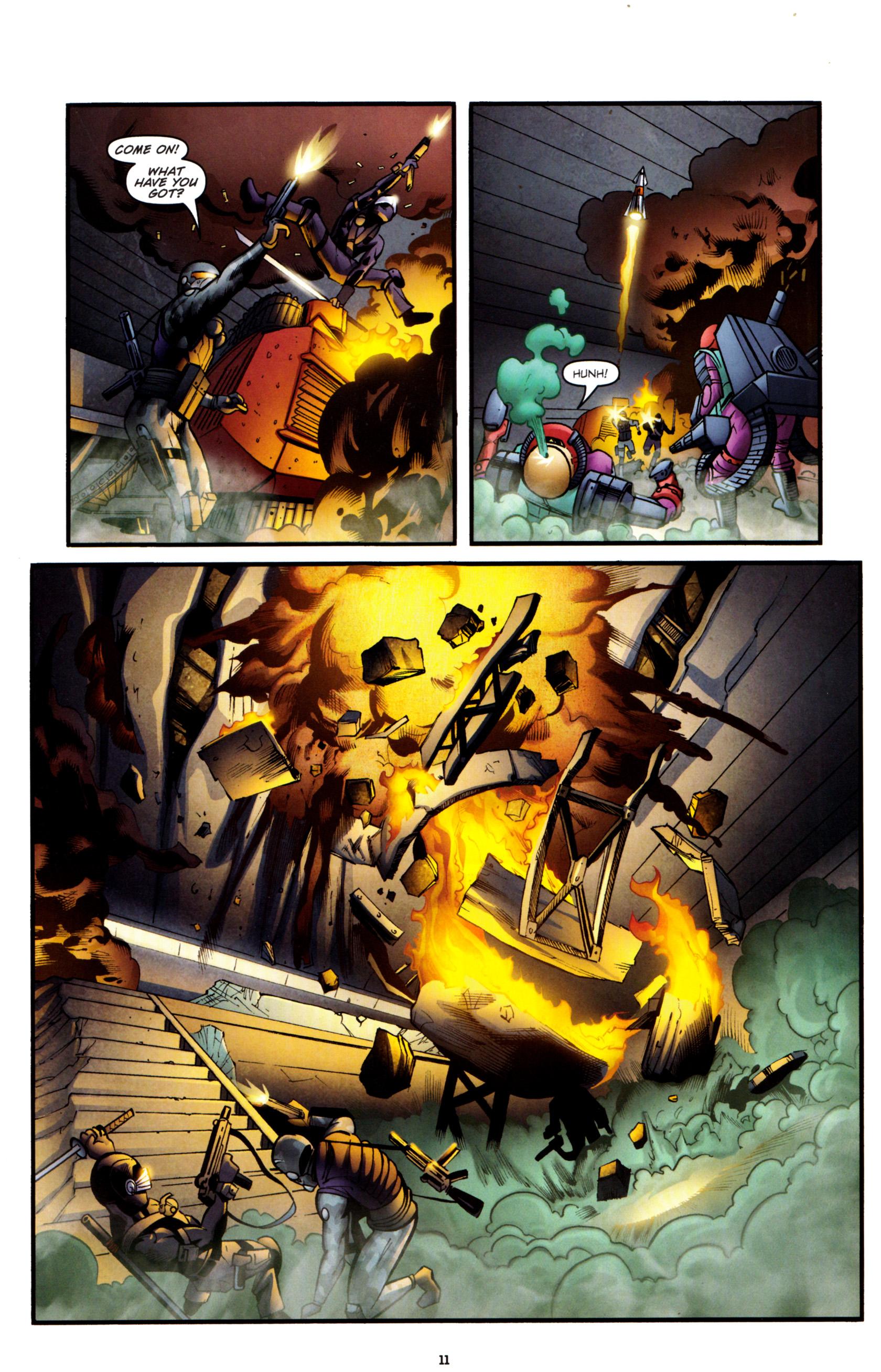 Read online G.I. Joe: Snake Eyes comic -  Issue #8 - 14