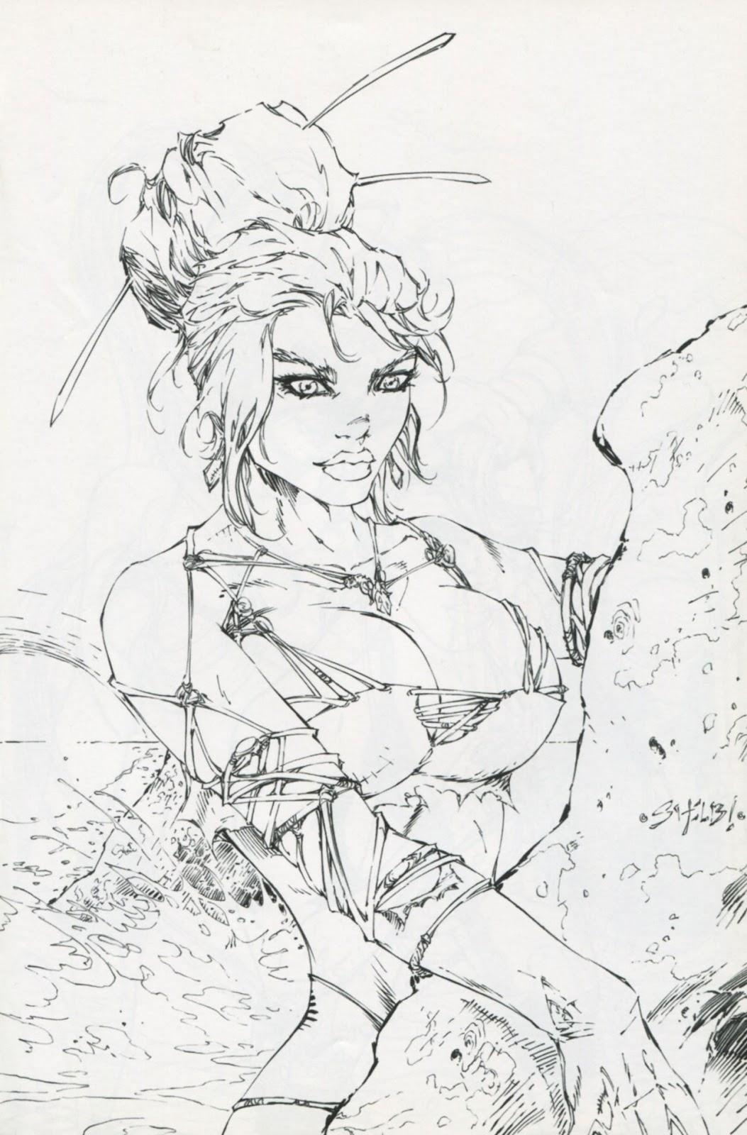Read online Latex Alice - Bikini Bash Swimsuit Special comic -  Issue # Full - 9