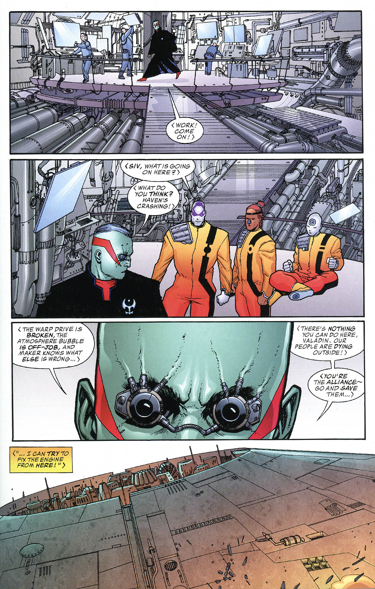 Read online JLA/Haven: Arrival comic -  Issue # Full - 17