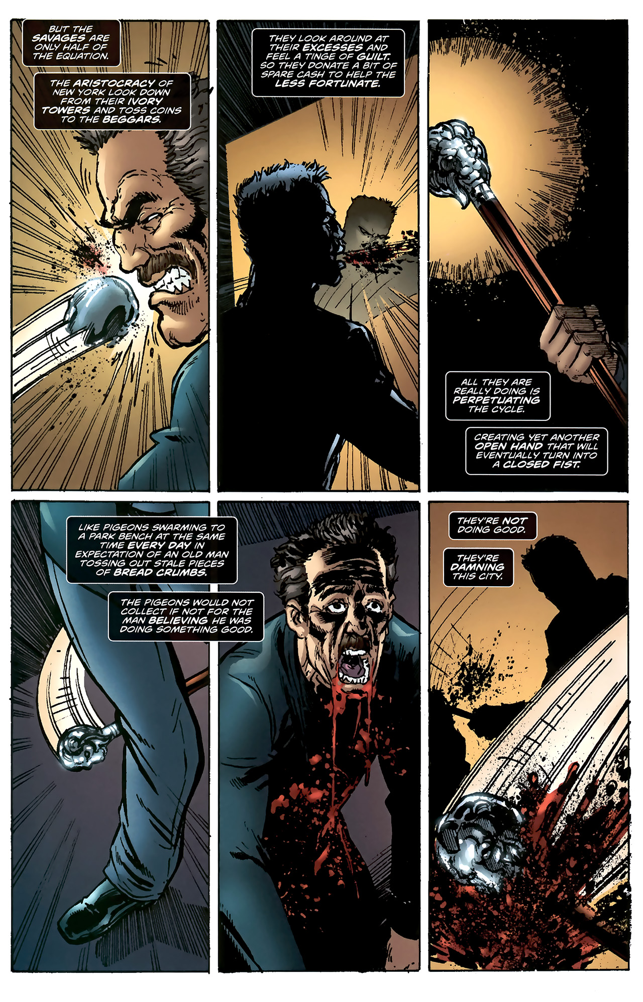 Read online ShadowHawk (2010) comic -  Issue #4 - 5