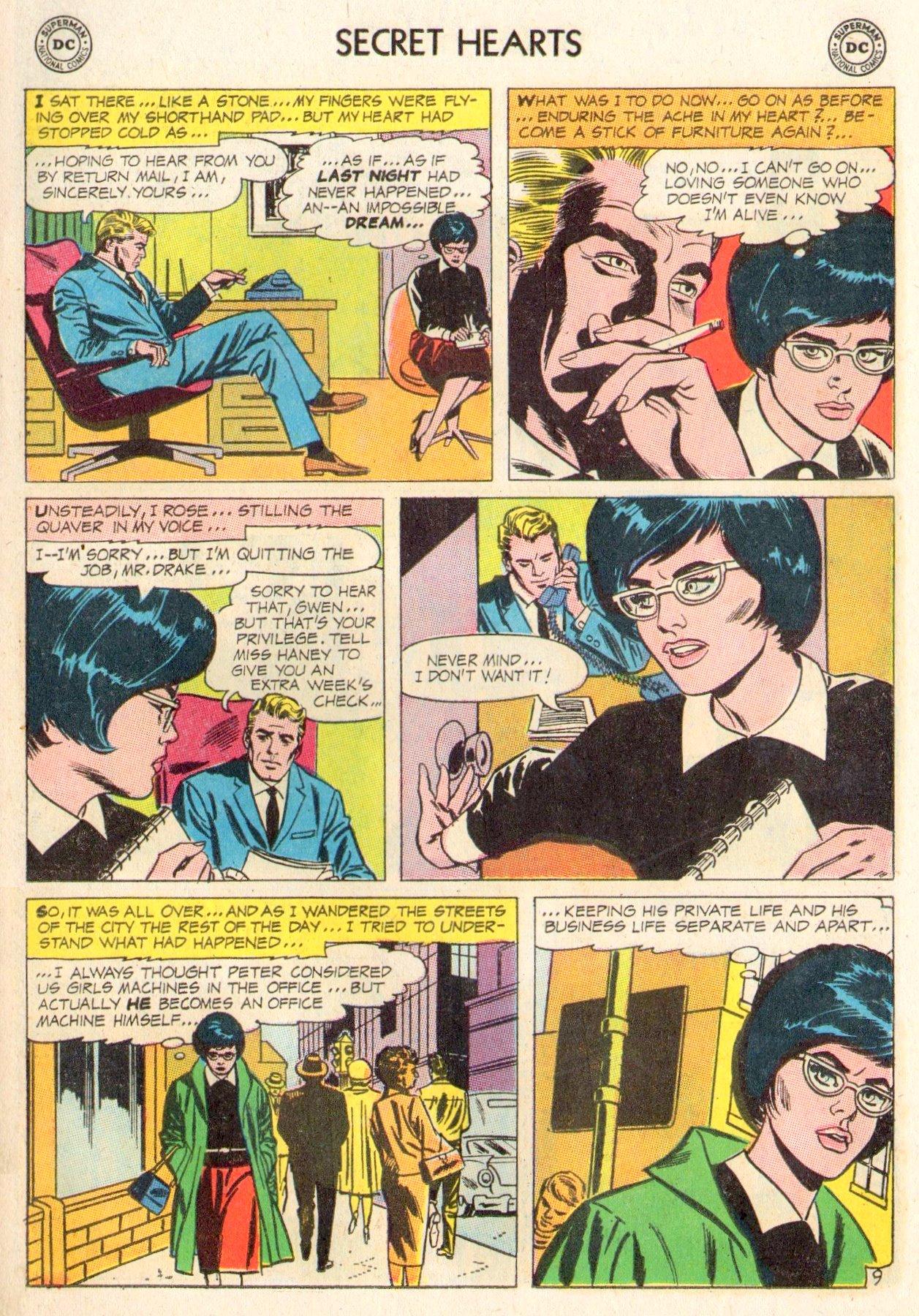 Read online Secret Hearts comic -  Issue #104 - 11