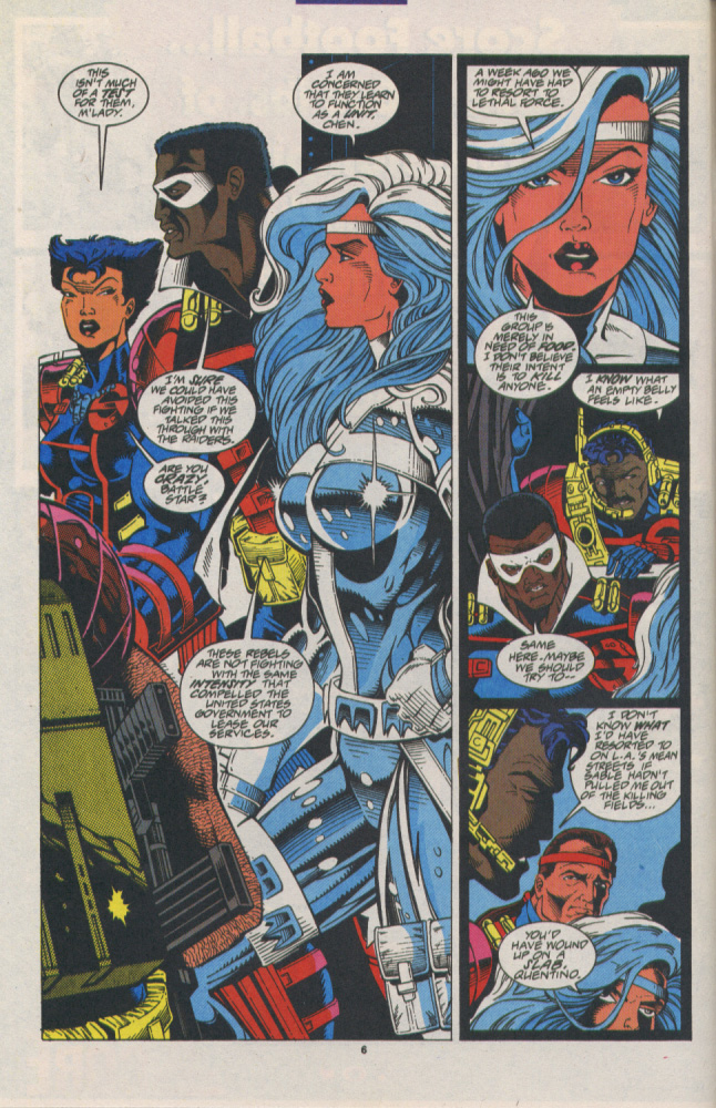 Read online Silver Sable and the Wild Pack comic -  Issue #16 - 6