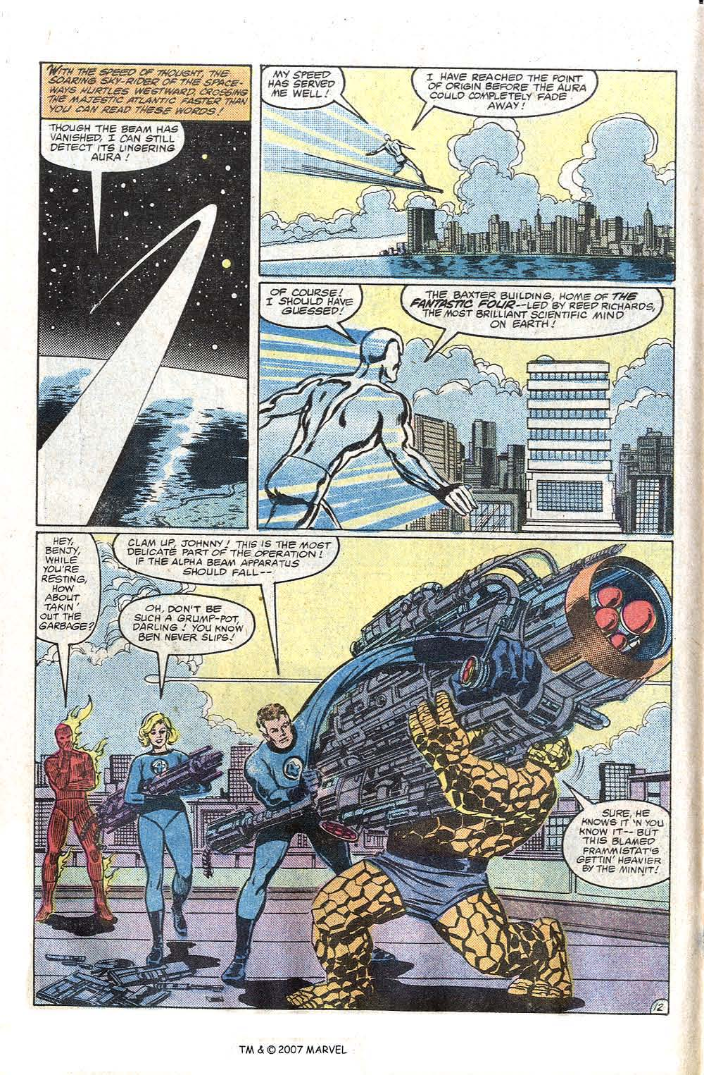Read online Silver Surfer (1982) comic -  Issue # Full - 14
