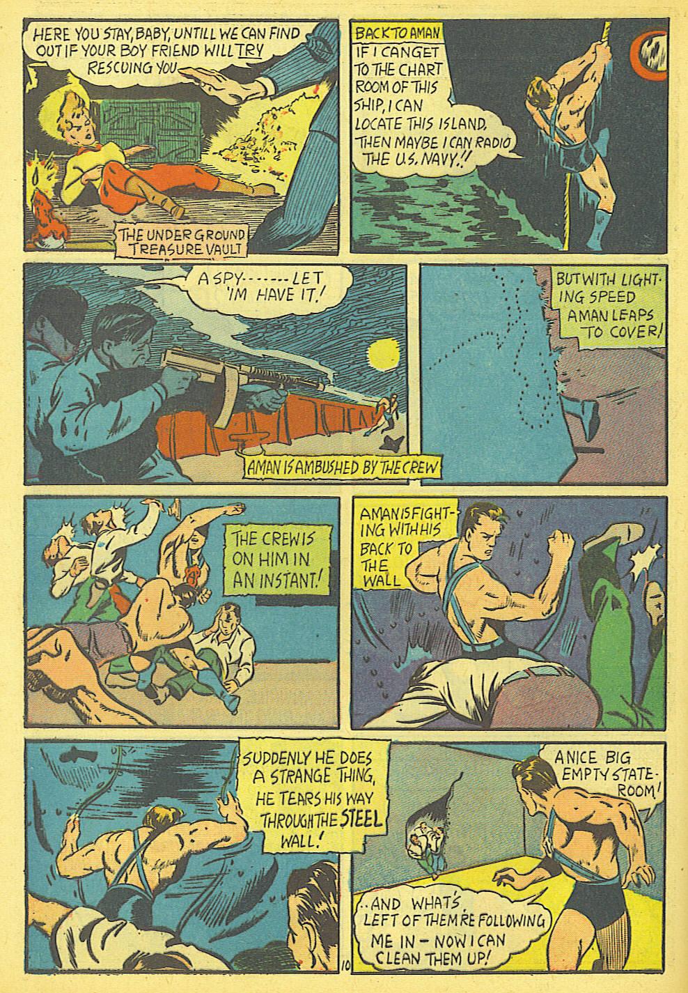 Read online Amazing Man Comics comic -  Issue #19 - 12