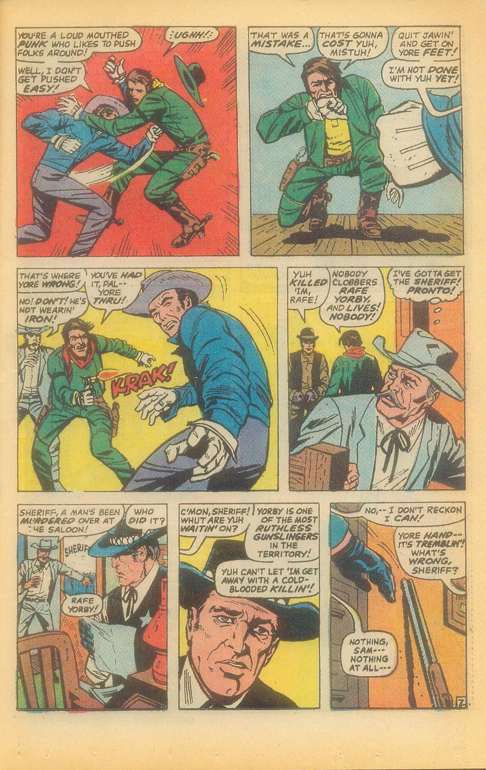 The Rawhide Kid (1955) issue 92 - Page 9