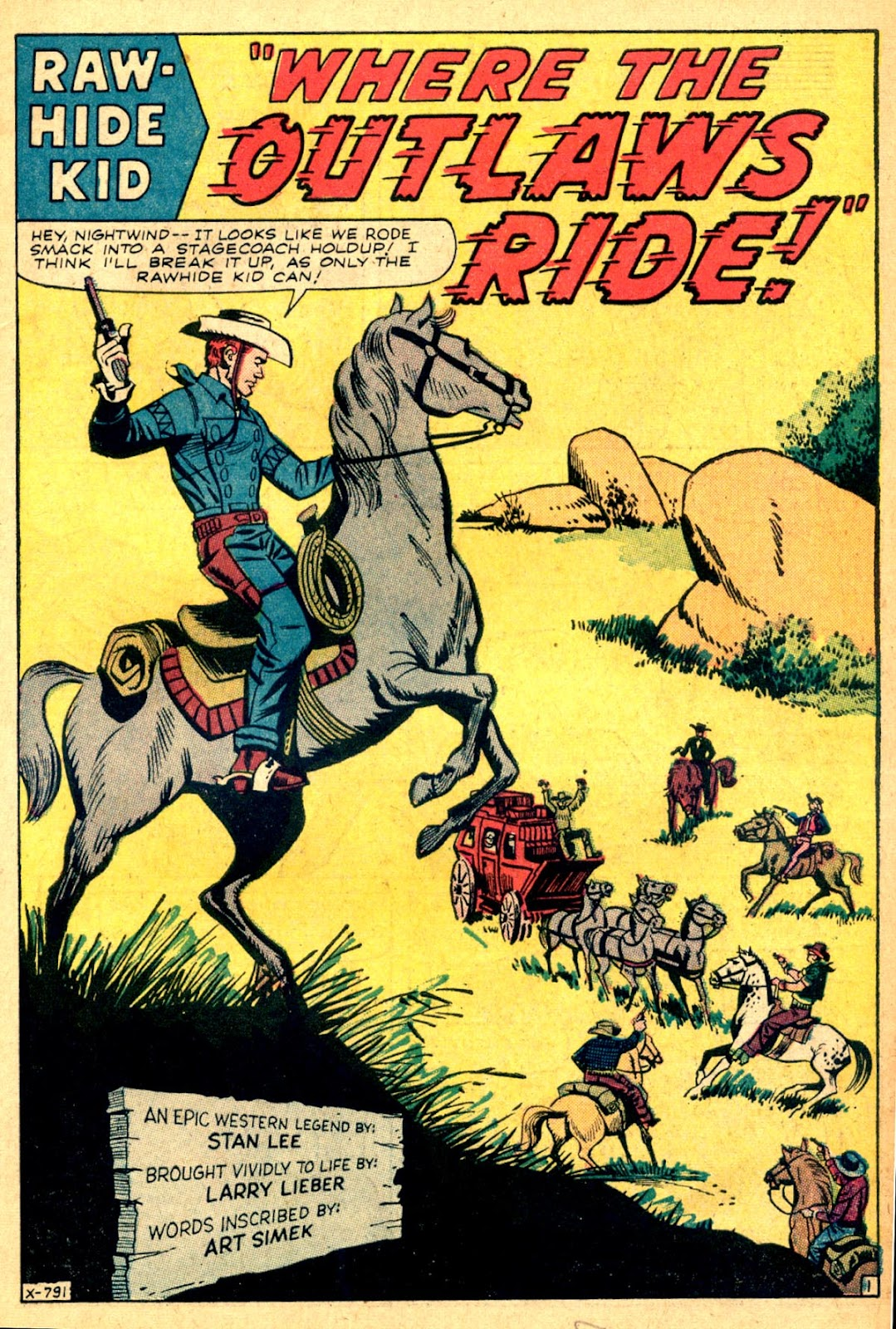 The Rawhide Kid (1955) issue 43 - Page 3