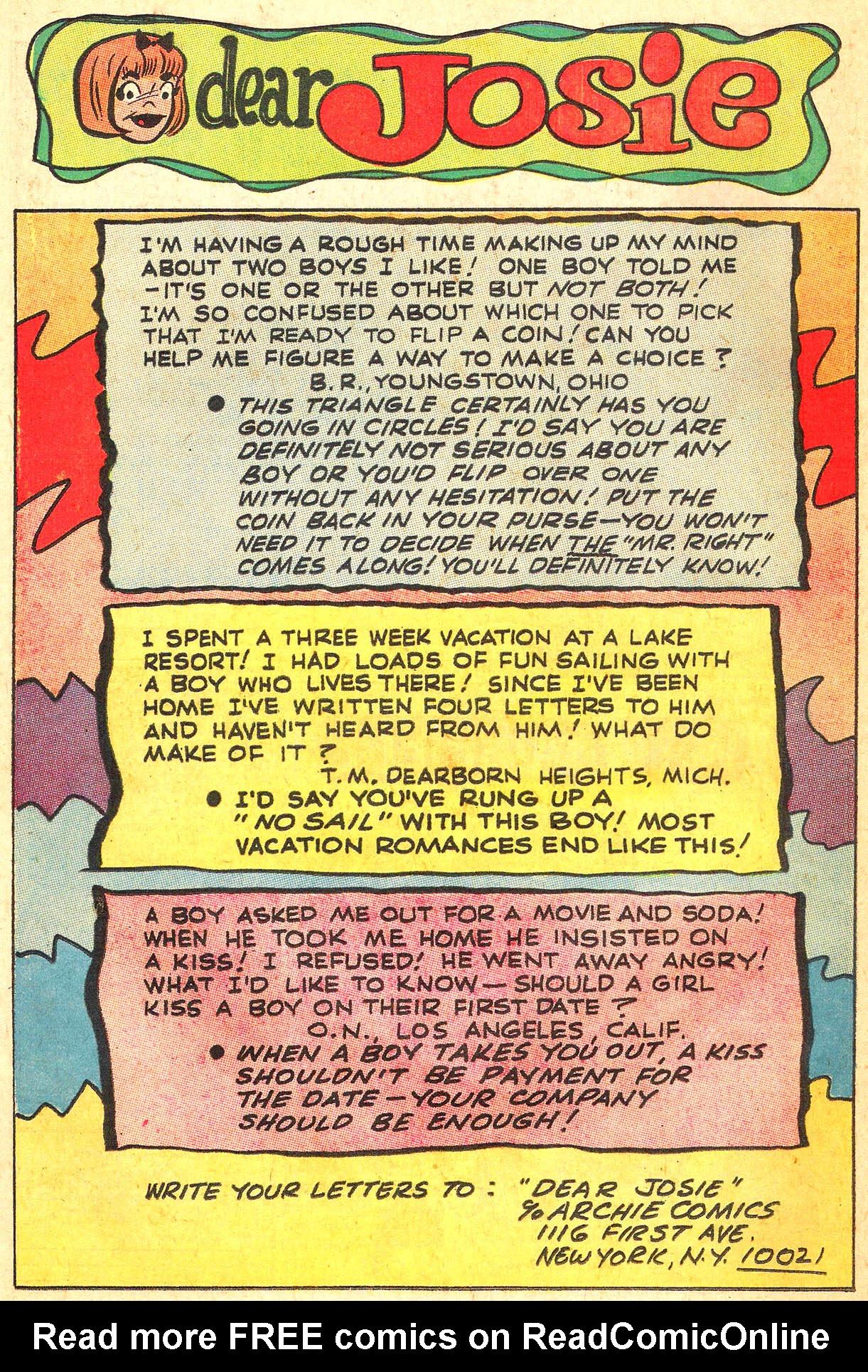 Read online She's Josie comic -  Issue #42 - 26