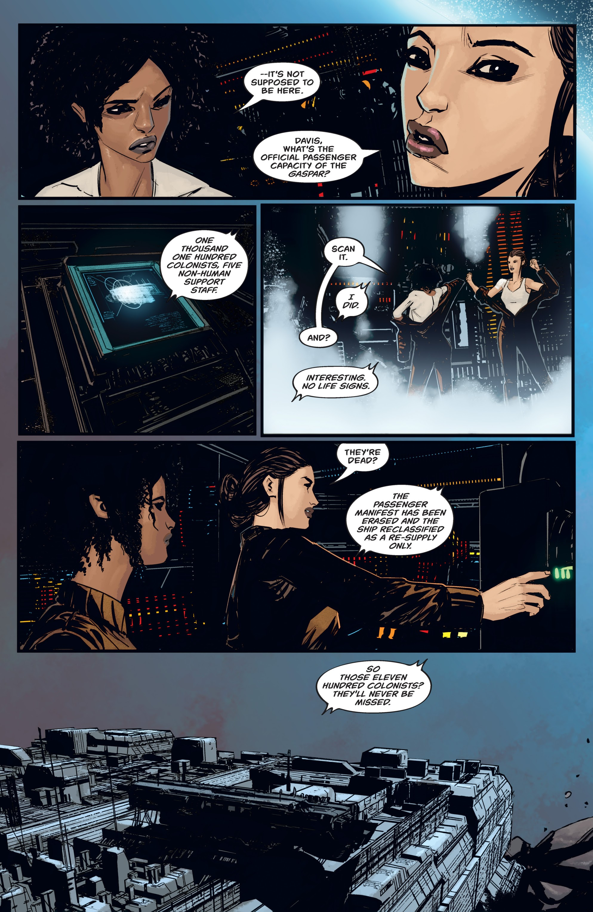 Read online Aliens: Resistance comic -  Issue # _TPB - 26