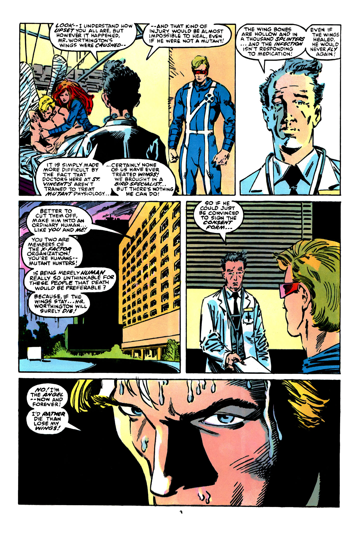 Read online X-Factor (1986) comic -  Issue #12 - 4