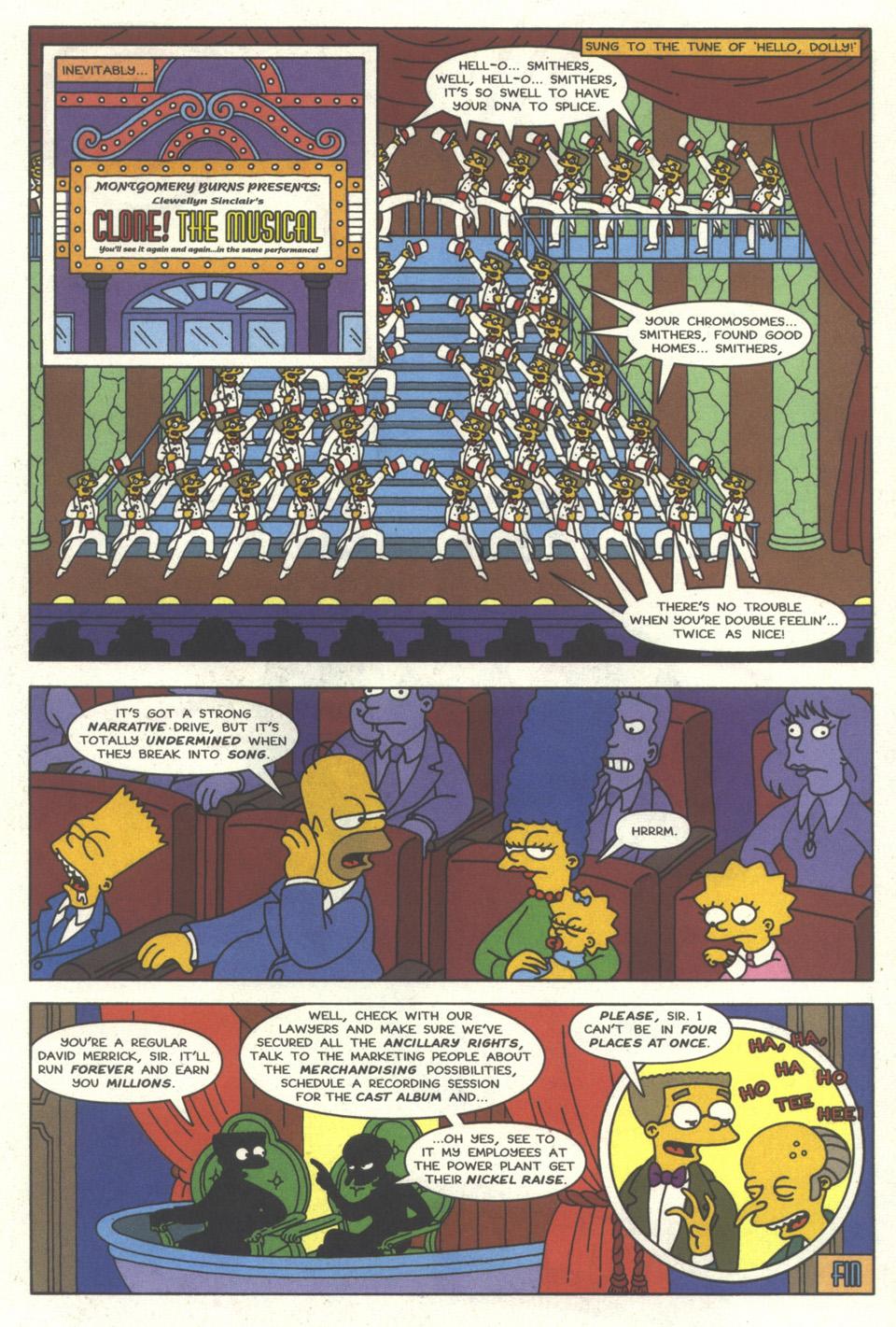 Read online Simpsons Comics comic -  Issue #30 - 22