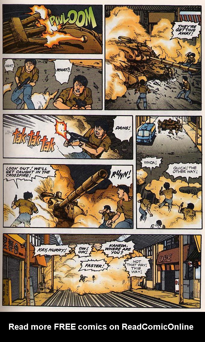 Read online Akira comic -  Issue #15 - 34
