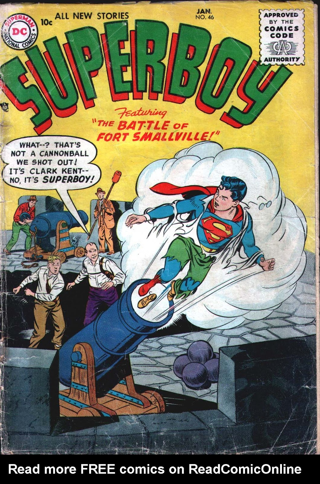Superboy (1949) issue 46 - Page 1