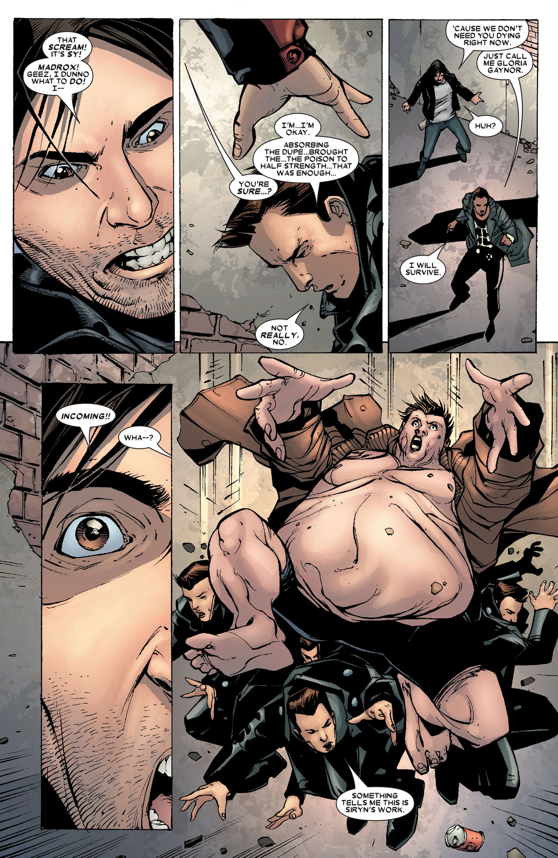 Read online X-Factor (2006) comic -  Issue #19 - 11