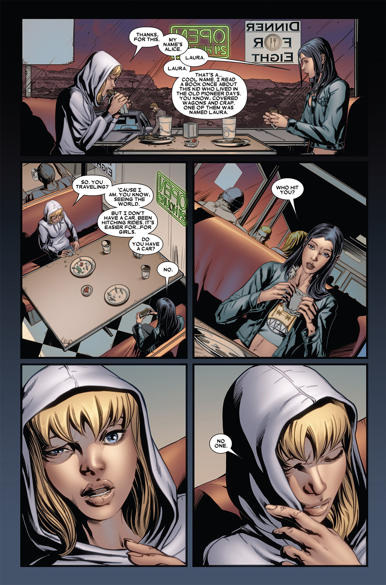 Read online X-23 (2010) comic -  Issue #4 - 7