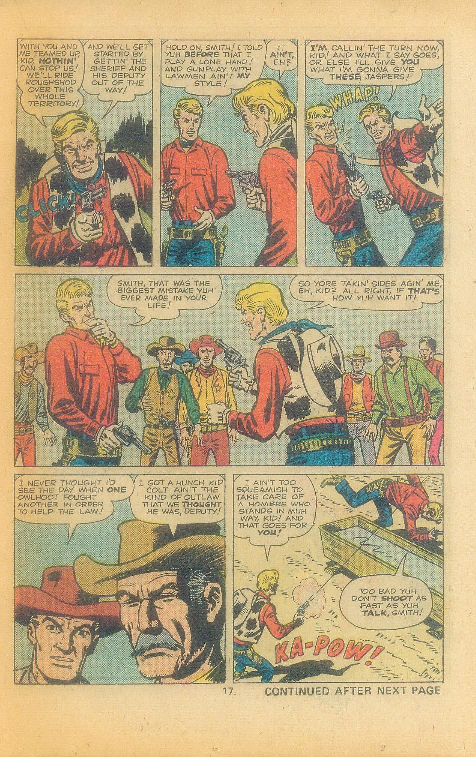Kid Colt Outlaw issue 197 - Page 19