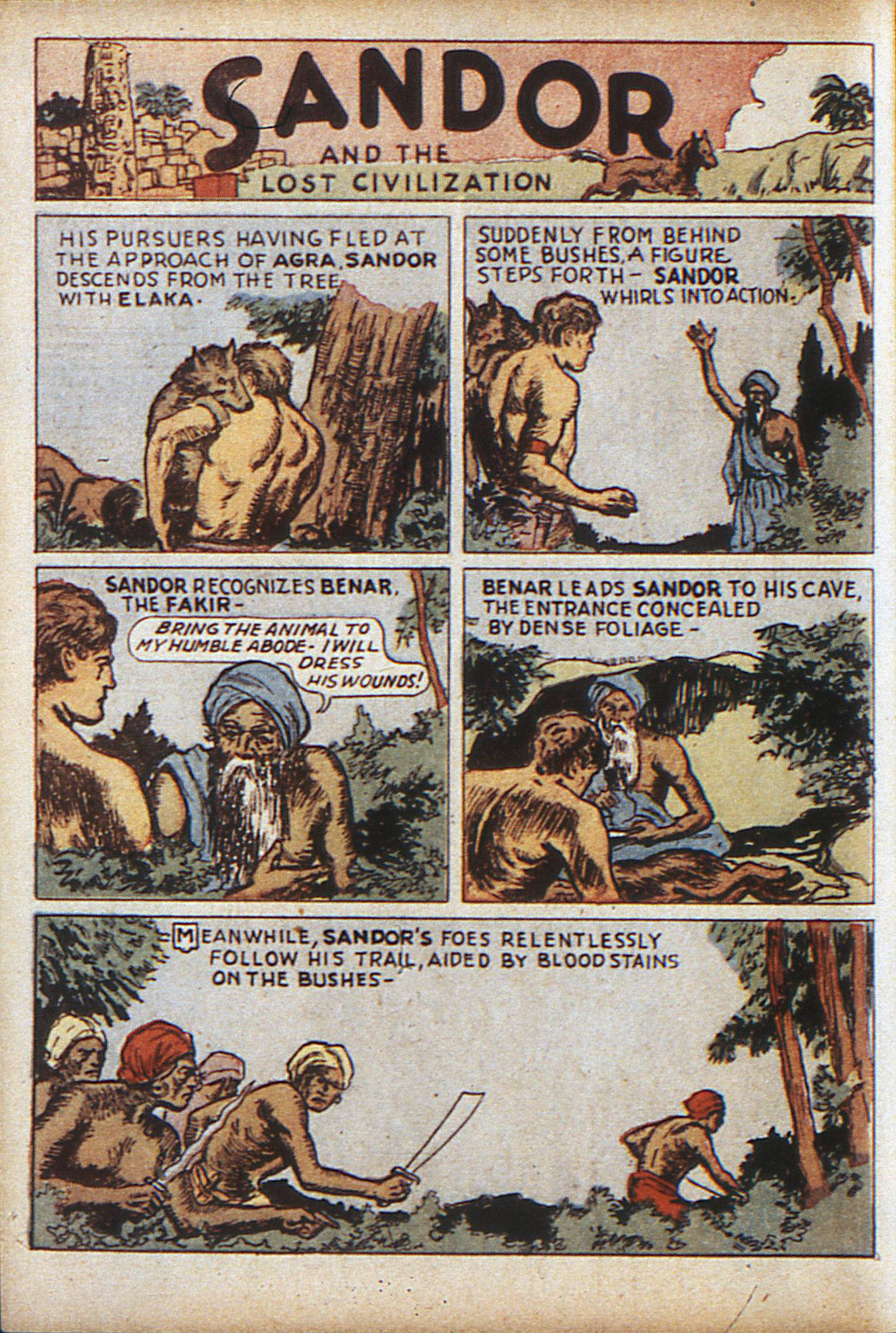 Read online Adventure Comics (1938) comic -  Issue #10 - 55