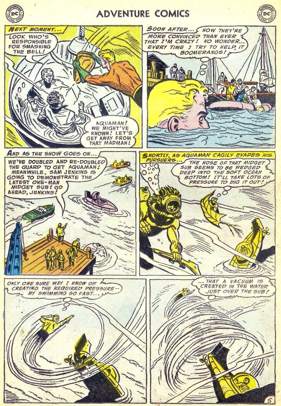 Read online Adventure Comics (1938) comic -  Issue #218 - 21