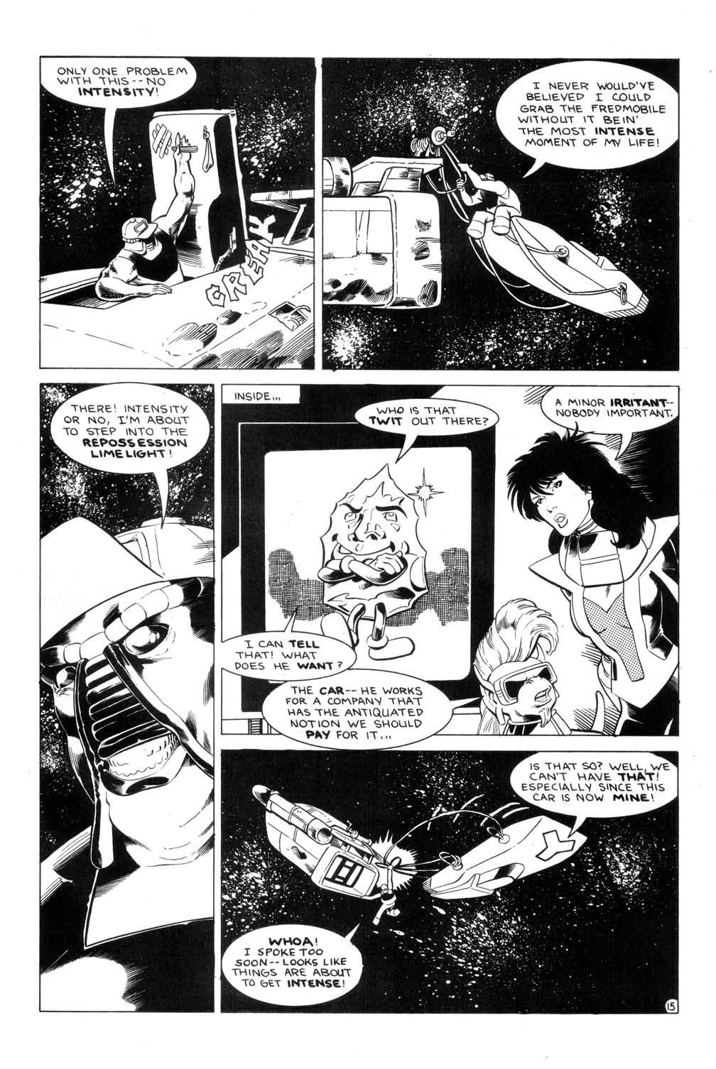 Aristocratic Xtraterrestrial Time-Traveling Thieves issue 7 - Page 17