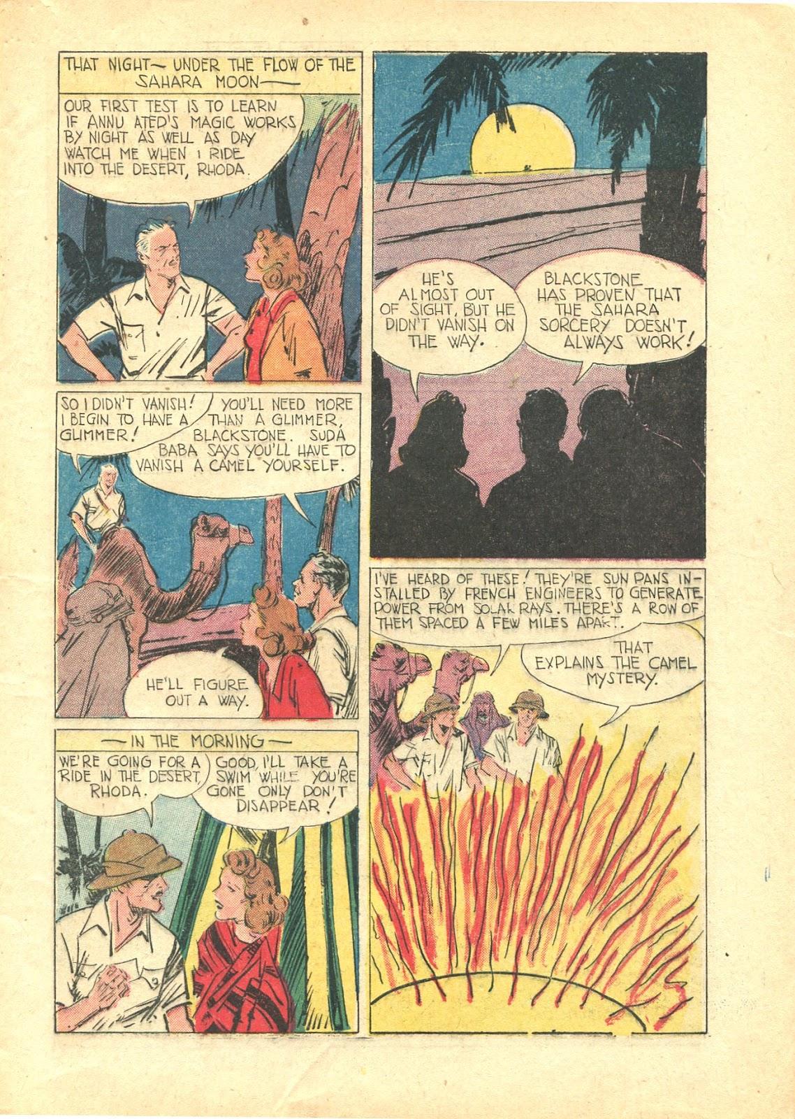 Read online Super-Magician Comics comic -  Issue #21 - 7