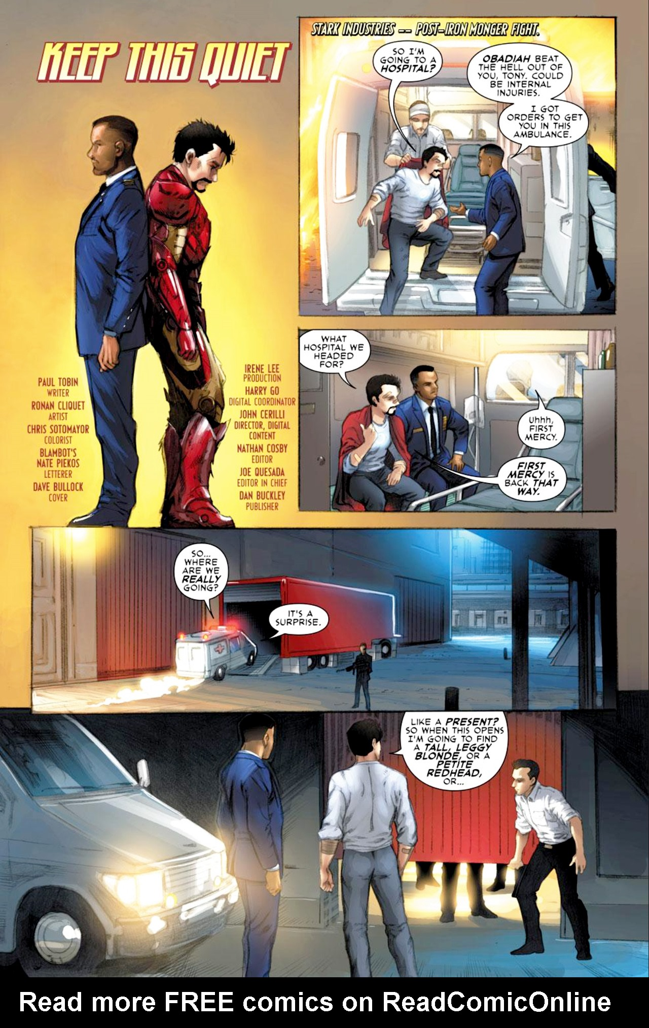 Read online Iron Man: Fast Friends comic -  Issue #2 - 2