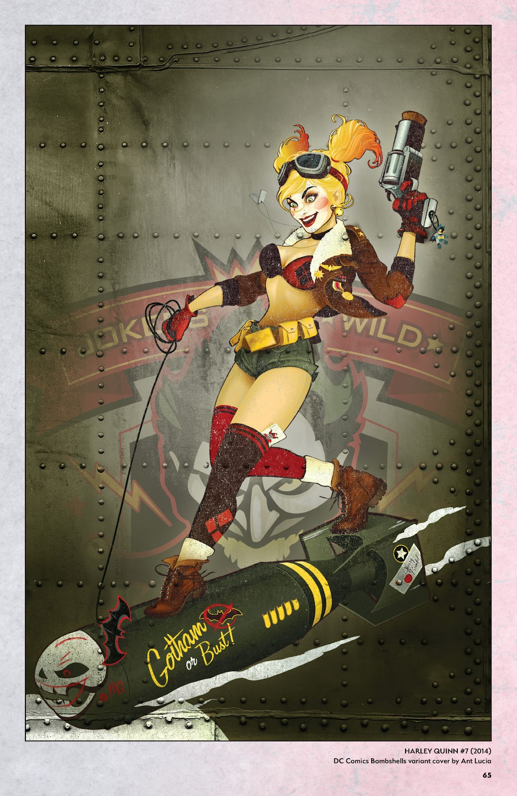 Read online Harley Quinn: A Rogue's Gallery―The Deluxe Cover Art Collection comic -  Issue # TPB (Part 1) - 63