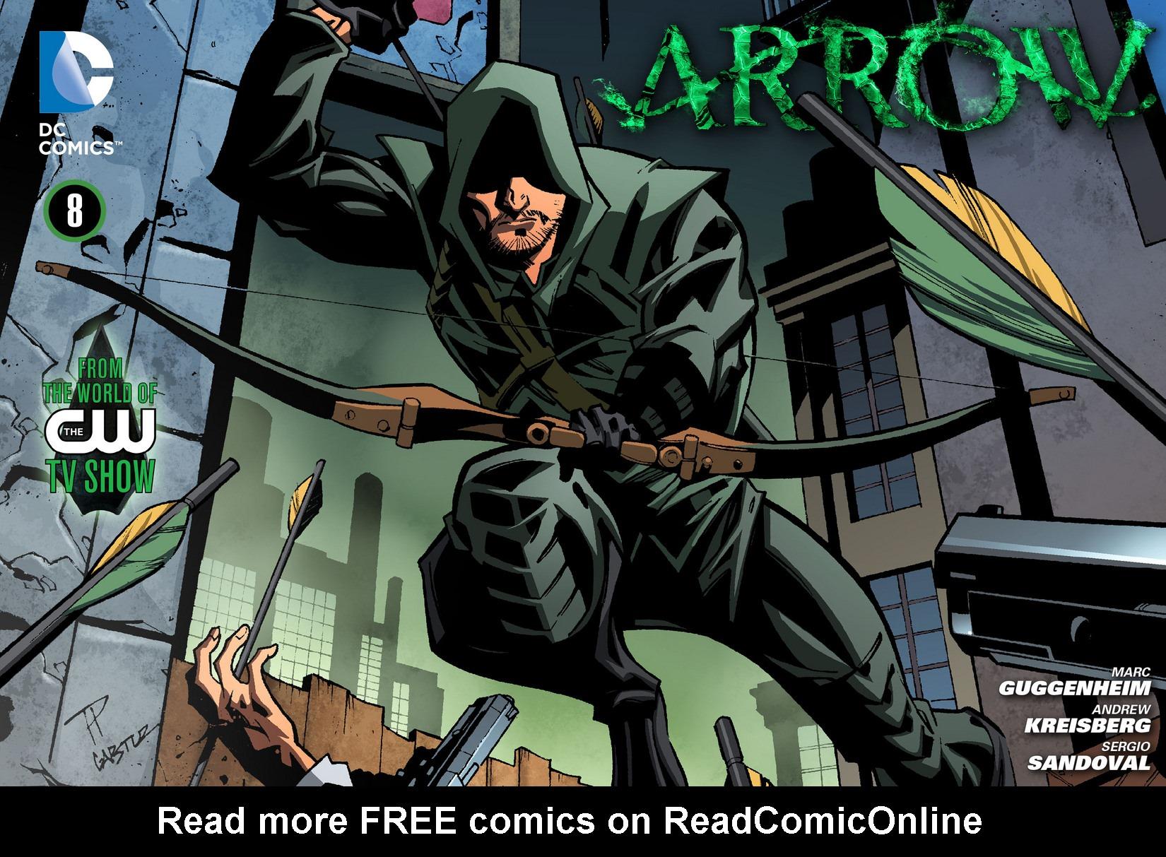 Read online Arrow [II] comic -  Issue #8 - 1