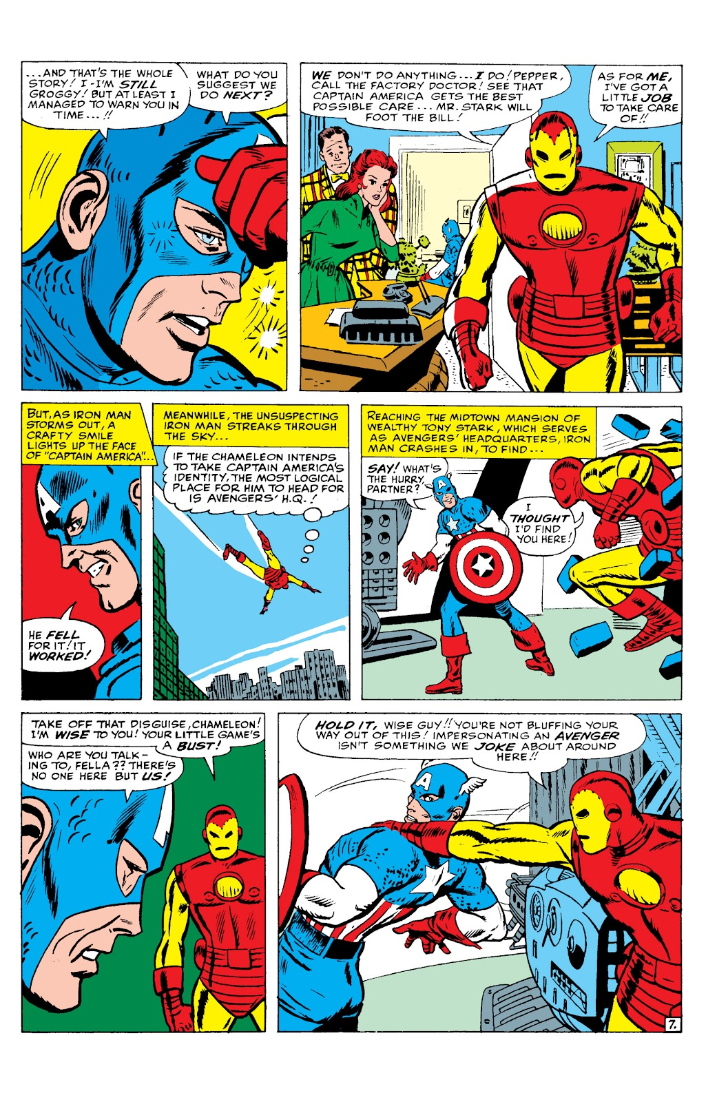 Read online Marvel Masterworks: The Invincible Iron Man comic -  Issue # TPB 2 (Part 2) - 28