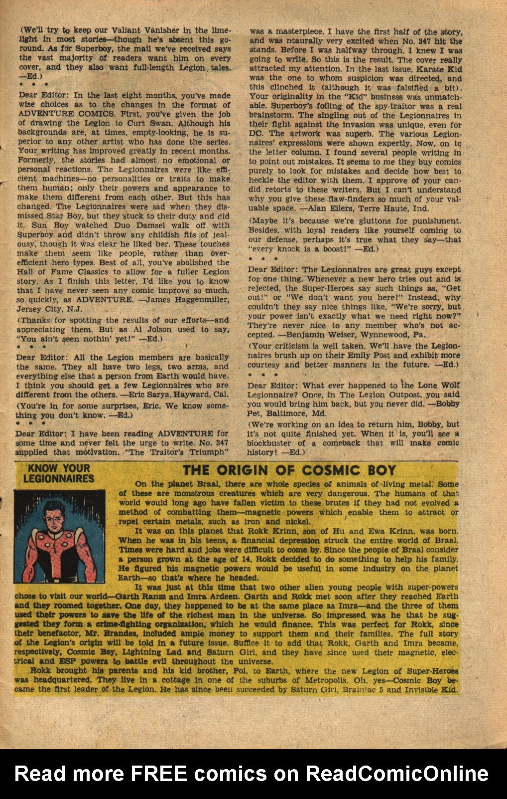 Read online Adventure Comics (1938) comic -  Issue #352 - 33