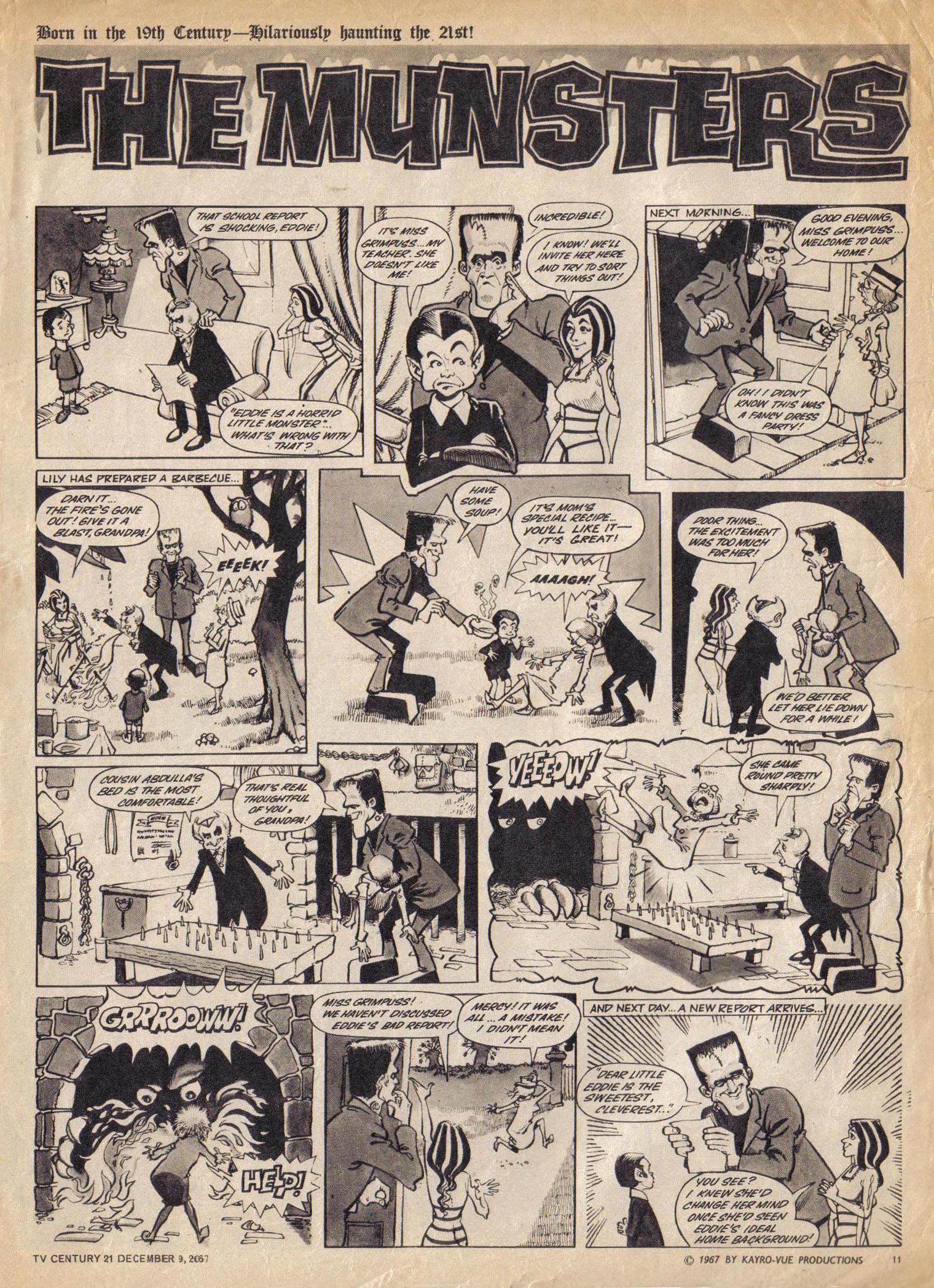 Read online TV Century 21 (TV 21) comic -  Issue #151 - 12
